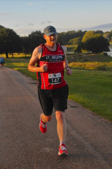 Pete Medlicott Chases the Sun at Tatton Park